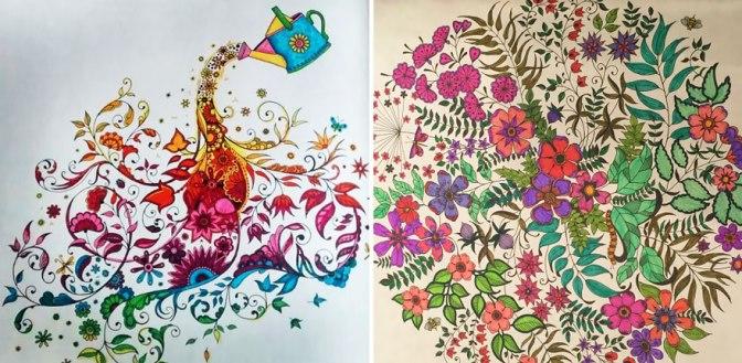 Viu essa? – Livros para colorir para adultos uma ferramenta anti