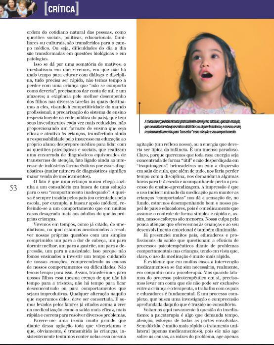 REV PSICOLOGIA EDITORA MYTHOS - VIDA MEDICALIZADA 3