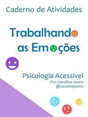 Caderno De Atividades Trabalhando As Emocoes Psicologia